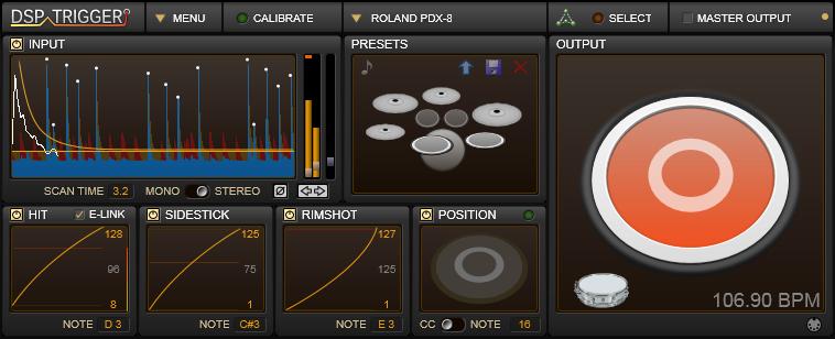 AudioFront - DSP TRIGGER
